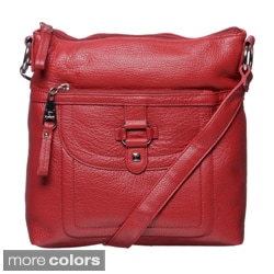 Stone Mountain Summit Leather Crossbody Bag