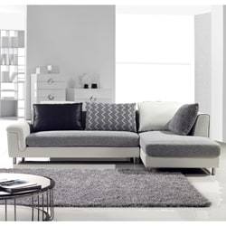 Furniture of America Zoie 2-peice Sectional Chaise Set