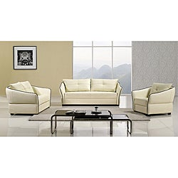 Furniture of America Modena 3-piece Sofa Set