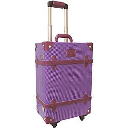 Amerileather Vintage Violet 23-inch Trunk Spinner Upright