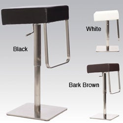 Retro Adjustable Height Swivel Backless Stool