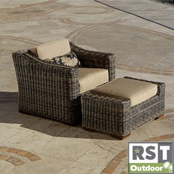 RST Resort Collection Weathered Grey Outdoor Club Chair
