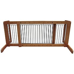 Merske Oak Free Standing Step Over Gate