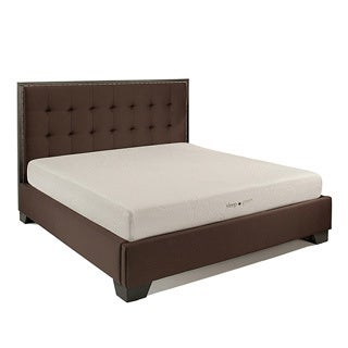 Abbyson Comfort 'Sleep-Green' 8-inch King-size Memory Foam Mattress