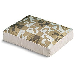 Crypton 'Gameboard' Sandstone Dog Bed (27 x 36)