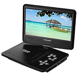 Sylvania SDVD1030 10-inch Portable DVD Player (Refurbished)