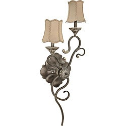 Nuvo Lighting 'Celeste' Right-hand 2-light Gold Coast Vanity Light