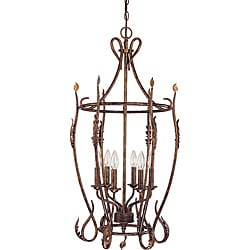 Trellio Pendant 6-light Autumn Gold Finish