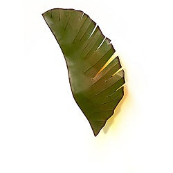 Banana Leaf 2-light Wall Sconce