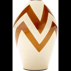 Chulucanas Zig Zag Lines Vase (Peru)