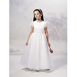 Sweetie Pie Girl's Ivory Flower Girl Dress