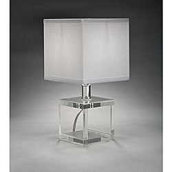 Aztec Lighting Contemporary 1-light Table Lamp in Chrome