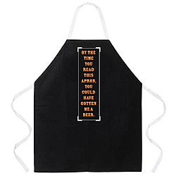 Attitude Aprons 'By the Time You Read This' Apron