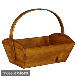 European-style Wooden Fruit Bucket