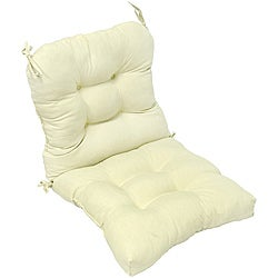 Outdoor Beige Seat/ Back Chair Cushion