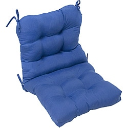 Aqua Blue Outdoor Seat/Back Chair Cushion