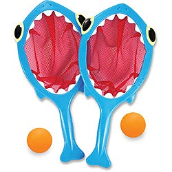 Melissa & Doug Spark Shark Toss and Catch Pool Game