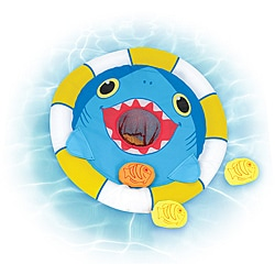 Melissa & Doug Spark Shark Floating Target Pool Game