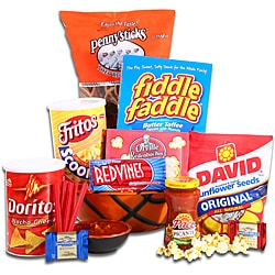 Alder Creek Gifts 'Game On!' Basketball Snack Basket