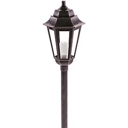Paradise Garden Antique Copper Cast Aluminum Path Light (Pack of 3)