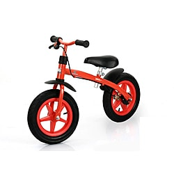 Assembled Red 24-inch Traxx E-Z Rider 12 Learning Balance Bike