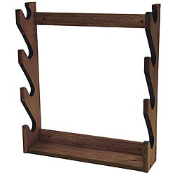 Evans Sports, Inc. 4-gun Wooden Rack