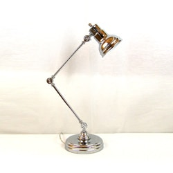 Polished Chrome Multi-adjustable Table Lamp