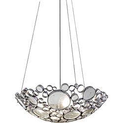 Fascination 4-light Clear Bottle Glass Pendant 