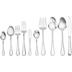 Towle Living Jasmine 77-piece Flatware Set