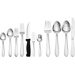 Pfaltzgraff Cheyenne Satin 53-piece Flatware Set