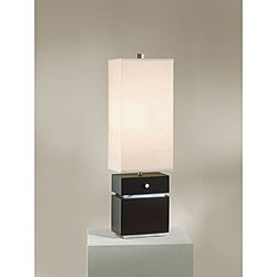 Nova Expression Dark Brown Table Lamp