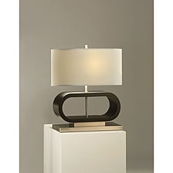 Nova Felix Dark Brown Table Lamp