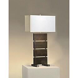 Nova Slattery Pecan Table Lamp