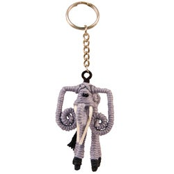 Yarn Elephant Keychain (Colombia)
