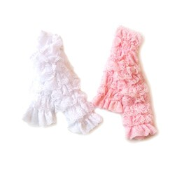 Boutique Lace Leg Warmers