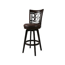 Royal Vista Espresso Swivel Counter Stool