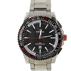 Fortune Men's Stainless Steel Sportwave Watch