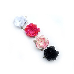 Boutique Flower Clips (Set of 4)