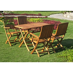 Royal Tahiti Almeria 5-Piece Outdoor Dining Set