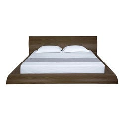 Waverly Modern Walnut Finish Queen-size Bed
