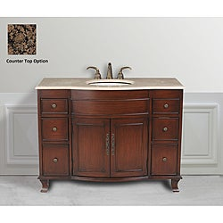 Design Element Edwardian 48-inch Single Sink Traditional Vanity Set