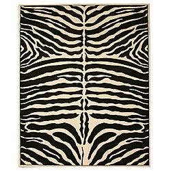 Divan Zebra Rug (5'3 x 7'7)