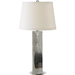 Sofia 30-inch Metallic Finish with Chrome Accents Table Lamp