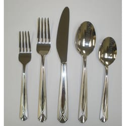 Cambridge Silversmiths Nanette Sand 65-piece Flatware Set
