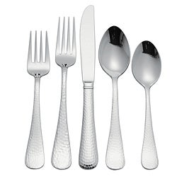 Reed and Barton Old English Hammered 67-piece Flatware Set