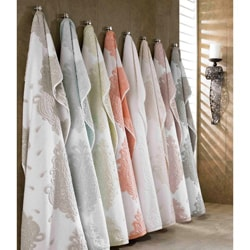 Roman Medallion Collection Turkish Cotton 6-piece Bath Towel Set