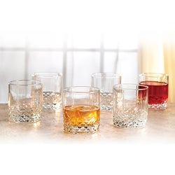 Style Setter Double Old-Fashioned 'Rocks' Glasses (Set of 6)