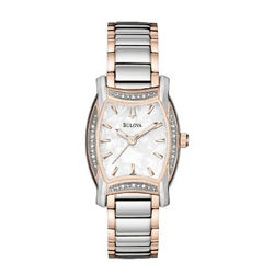 Bulova Women's Lawton Diamond Bezel Watch