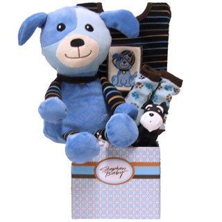 Great Arrivals Special Delivery Baby Boy Gift Basket