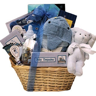Great Arrivals Congratulations Baby Boy Gift Basket